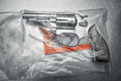 Pistool 38 speciale revolver Stock Foto's