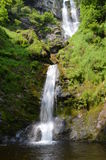 Pistyll Rhaeadr i de Berwyn bergen Fotografering för Bildbyråer