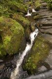 Pistyll Rhaeadr vattenfall Arkivfoton