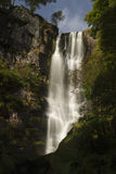 Pistyll Rhaeadr Waterfall – High waterfall in wales, United Ki. Pistyll Rhaeadr (Welsh for 'spring of the waterfall') this waterfall is often claimed Royalty Free Stock Photos