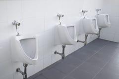 Pisuar toaleta publicznie Zdjęcie Stock