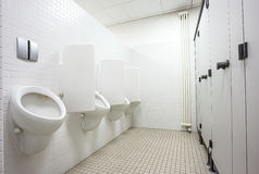 Pisuaru i toalety drzwi Fotografia Stock