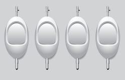 Pisuar dla urinate trwanie up royalty ilustracja