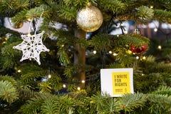 Pisze Dla prawic, duży prawa człowieka wydarzenie Amnesty International zdjęcie stock