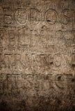 pisze list rzymską teksturę obrazy stock