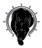 Pit bul vector Royalty Free Stock Photo