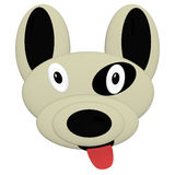 Pit Bull Puppy Klipp Art Lizenzfreies Stockfoto