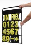 Pit display board. Motor-sports pit display board stock image