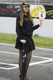 Pit Lane Girls Stock Foto's
