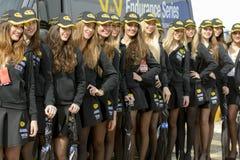 Pit Lane Girls Fotografia Stock