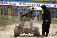 Pit line,GRAND PRIX - SEVLIEVO Stock Photography
