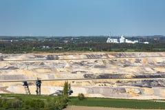 Pit Mine And Sugar Factory fotos de archivo