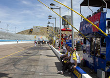 Pit Road at Phoenix International Raceway Stock Photography