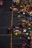 Pit Row Fotografía de archivo libre de regalías