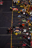 Pit Row. Royalty Free Stock Photography