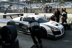 Pit Stop royalty free stock photos