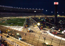 Pit Stop Duck Commander 500 Nascar Immagine Stock