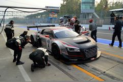 Pit Stop royalty free stock images
