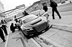 Pit Stop stock photography
