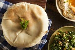 Pita Bread orgánica hecha en casa Fotografía de archivo libre de regalías