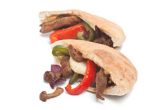 Pita Bread Sandwiches Stock Image