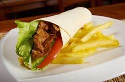 Pita bread  turkish Stock Images