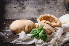 Pita bread Royalty Free Stock Images