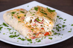 Pita bread Royalty Free Stock Photos