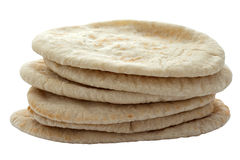 Pita Breads in a Pile Royalty Free Stock Photo