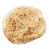 Pita breads on a white Stock Image