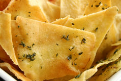 Pita Chip Background Royalty Free Stock Photo