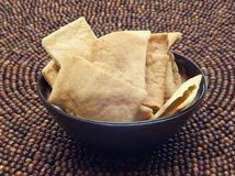 Pita Chip Snack Stock Photography