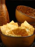 Pita Chips stockfoto