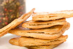 Pita Chips Stock Image