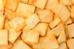 Pita Chips Closeup Fotografía de archivo libre de regalías