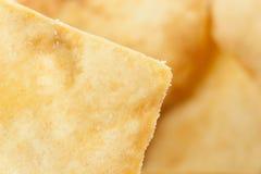 Pita Chips crocante caseiro Fotografia de Stock