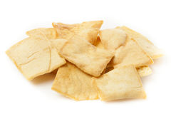 Pita Chips crocante caseiro Foto de Stock