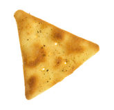Pita crispy snack cracker Royalty Free Stock Photos