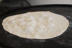 Pita Dough su Saj Immagine Stock Libera da Diritti