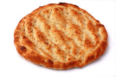 Pita isolated on white background Royalty Free Stock Photos