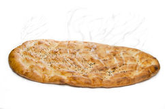 Pita or pide isolated on white background Stock Photos