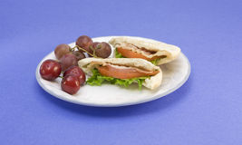 Pita pocket blt Royalty Free Stock Images