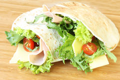 Pita Pockets Royalty Free Stock Photo