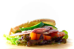 Pita Sandwich Stockbild
