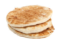 Pita Stack Isolated Royalty Free Stock Photography