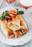 Pita zeljanica, Balkans phyllo ciasto zdjęcia royalty free