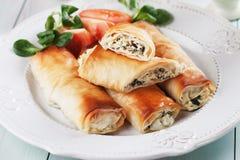 Pita zeljanica, balkans phyllo pastry Stock Photography
