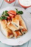 Pita zeljanica, balkans phyllo pastry Royalty Free Stock Photos