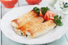 Pita zeljanica, balkans phyllo pastry meal Stock Images