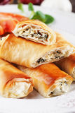 Pita zeljanica, balkans phyllo pastry Royalty Free Stock Photography